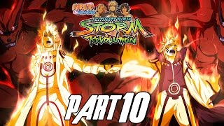 naruto shippuden ultimate ninja storm revolution walkthrough part 10 gameplay xbox 360