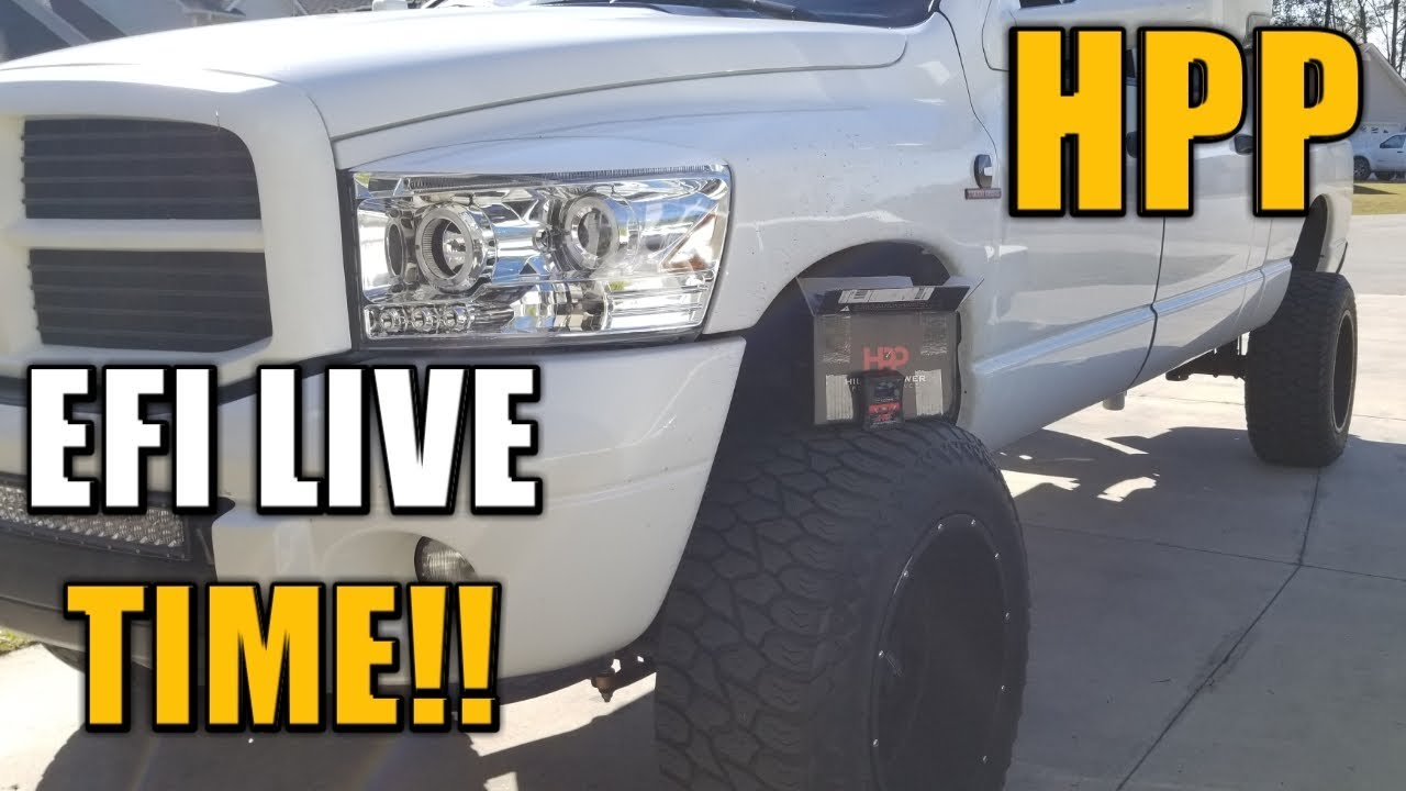 Installing HPP EFI LIVE Tuning on 6 7 CUMMINS!