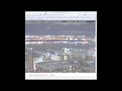 UFO WEBCAM NYC 1/12/2010                                                                    1122010