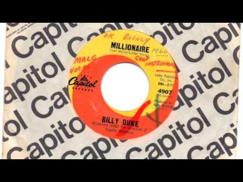 BILLY DUKE - MILLIONAIRE / GOODBYE STRANGER - CAPITOL