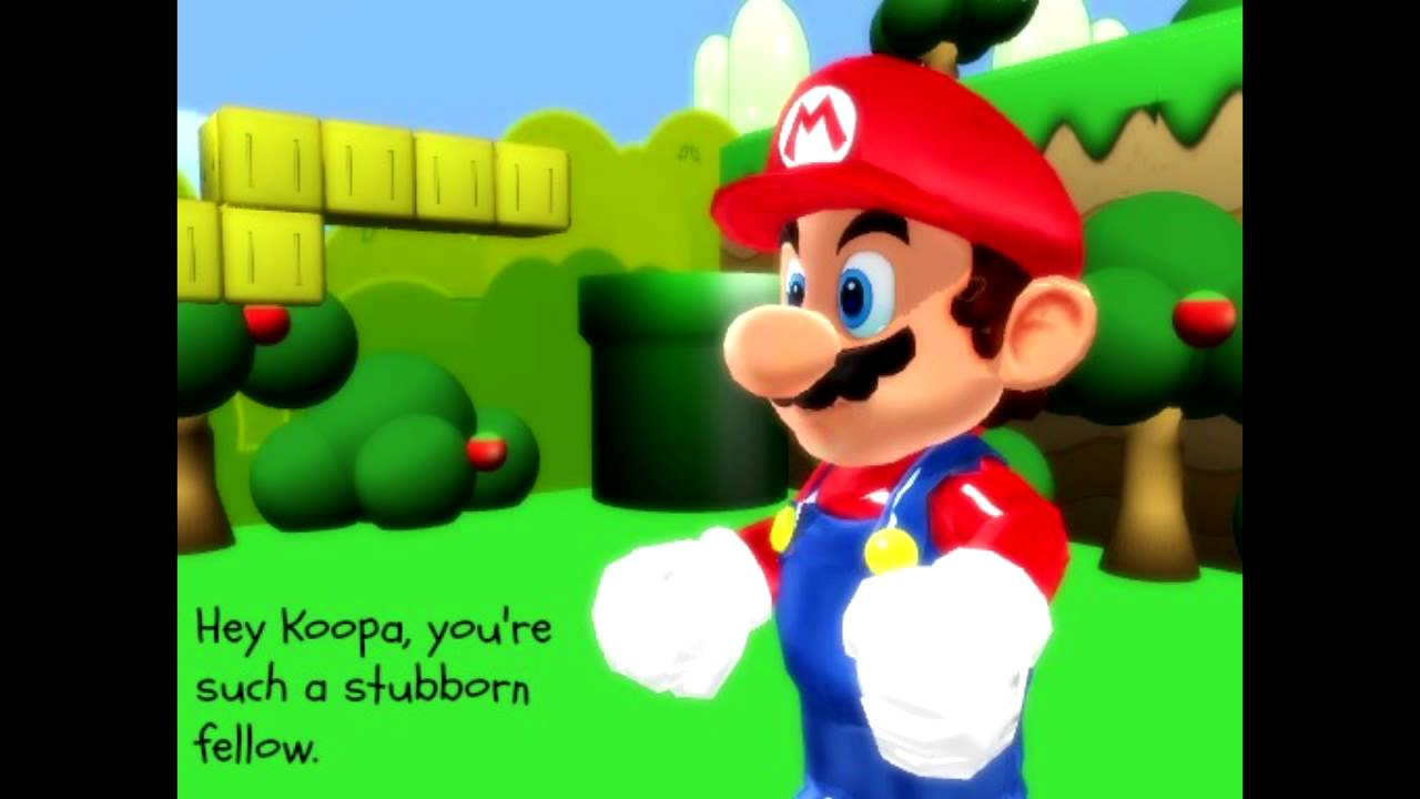Super Mario Hyadain English Subbed [MMD] *Unfinished*
