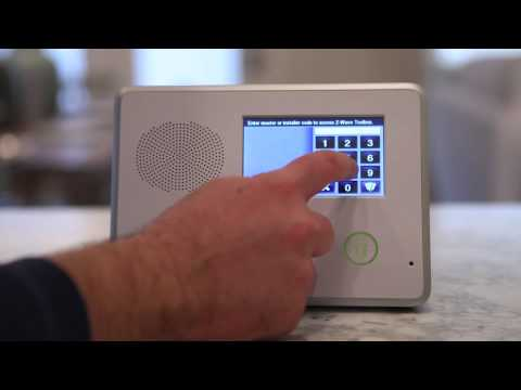 Pairing Z-Wave Devices: TYM 2GIG Home Security
