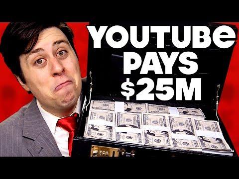 YouTube Pays News $25M Ransom - PARODY