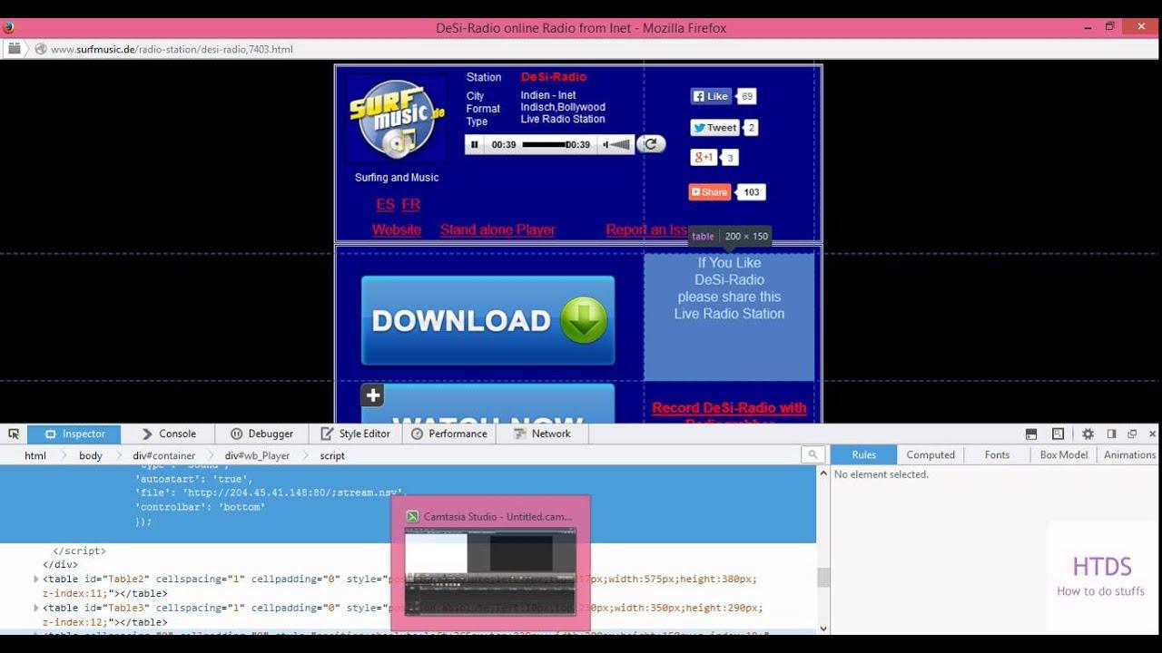 How to find hidden online radio stream url from the website complete  tutorial