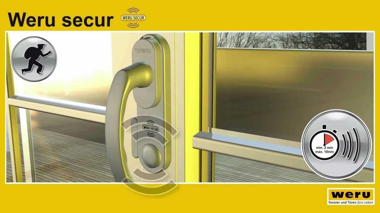 Weru secur das sicherheitsfenster mit alarmfunktion for Fenster weru