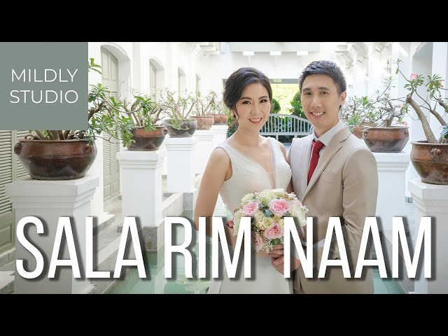 K.Jan & K.Champ Wedding Cinematography @ Sala Rim Naam, Mandarin Oriental ห้องอาหารศาลาริมน้ำ