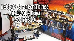 Review LEGO Stranger Things (Set 75810 The Upside Down) deutsch