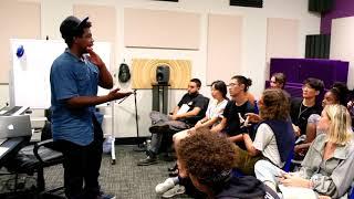 Hip Hop Lab 2018: Austin Antoine, Part 1