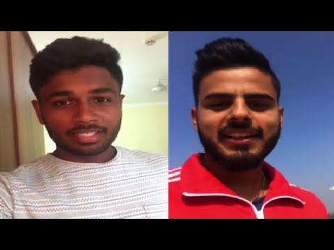 Sanju Samson & Nitish Rana Are Happy With Their IPL Auctions