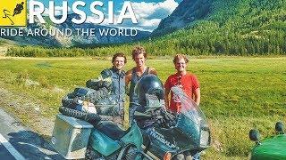 MOTORBIKE TRIP Around the WORLD, Asia - Russia Altai