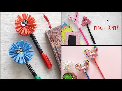 DIY Pencil Toppers | Back To School