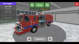 Car Crushers 2 / BUYING A FIRE ENGINE! / Roblox / (#6)