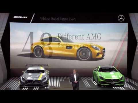 Mercedes Benz Media Night at Paris Motor Show 2016