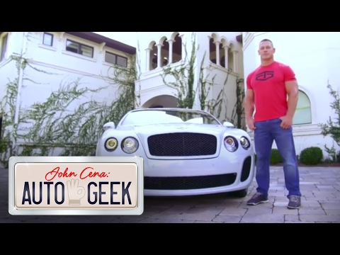 John Cena shows under the hood of Nikki Bella's VERY FAST Bentley! Only on The Bella Twins channel