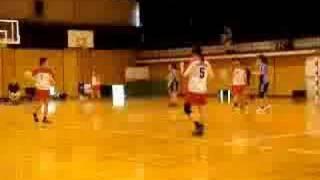 20080615新人戦、女子・×福岡大学(26-31)福岡教育大学○