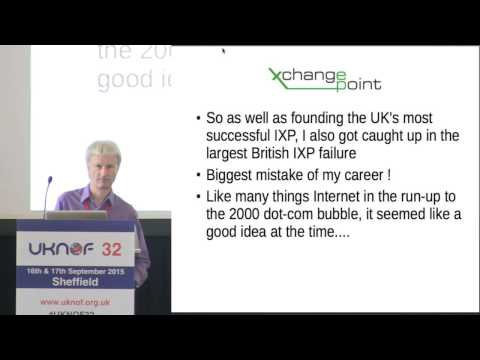 UKNOF32 - Internet History Talk - Great British IXP Failures
