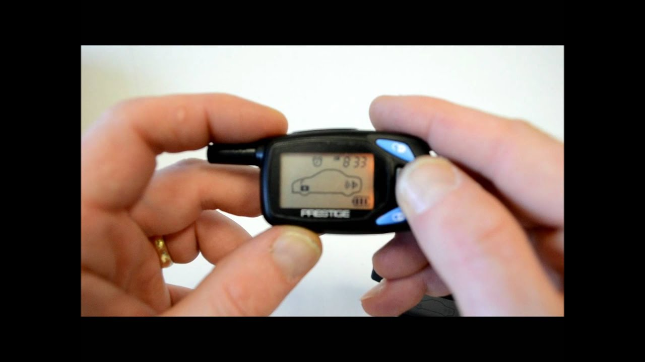 Key Fob Programming >> Audiovox Prestige 5bcr07p 5bcr05p remote setting and programming - YouTube