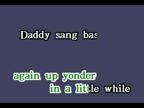 DK069 17   Cash, Johnny   Daddy Sang Bass [karaoke]