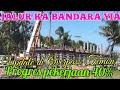Update proyek Jalur Kereta Bandara YIA di Kali Gintung dan Perlintasan Temon Yogyakarta