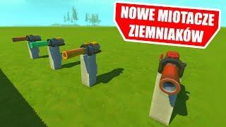 SCRAP MECHANIC - TESTUJE NOWE MIOTACZE ZIEMNIAKÓW!!