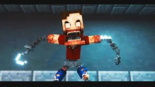 "BersGamer REACCIONA a: ""After Show"" Minecraft FNAF Animation Music Video 