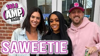 Saweetie Interview with JD #TheScene