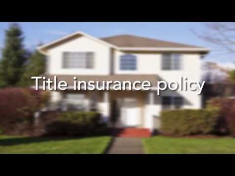 The Cost Of Title Insurance
