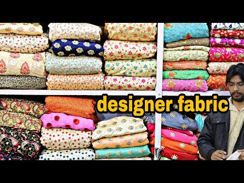 designer fabric at cheap price | CHEAPEST FABRIC MARKET |  Fabrics For  SAREE,LEHENGA, | urban hill