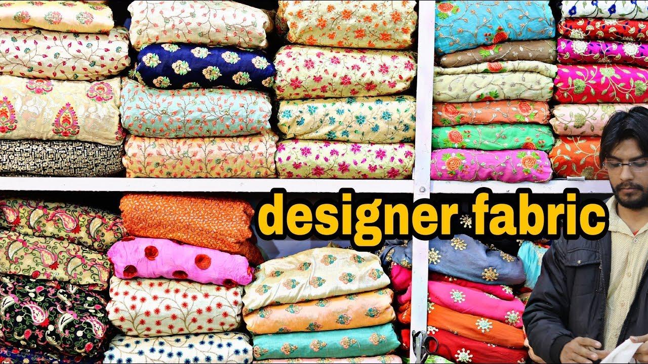 4e8b68da88 designer fabric at cheap price | CHEAPEST FABRIC MARKET | Fabrics For  SAREE,LEHENGA, | urban hill