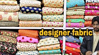 designer fabric at cheap price CHEAPEST FABRIC MARKET Fabrics