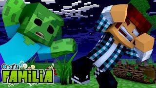 Minecraft Familia #11 - INVASÃO DE ZUMBIS NA VILA !!