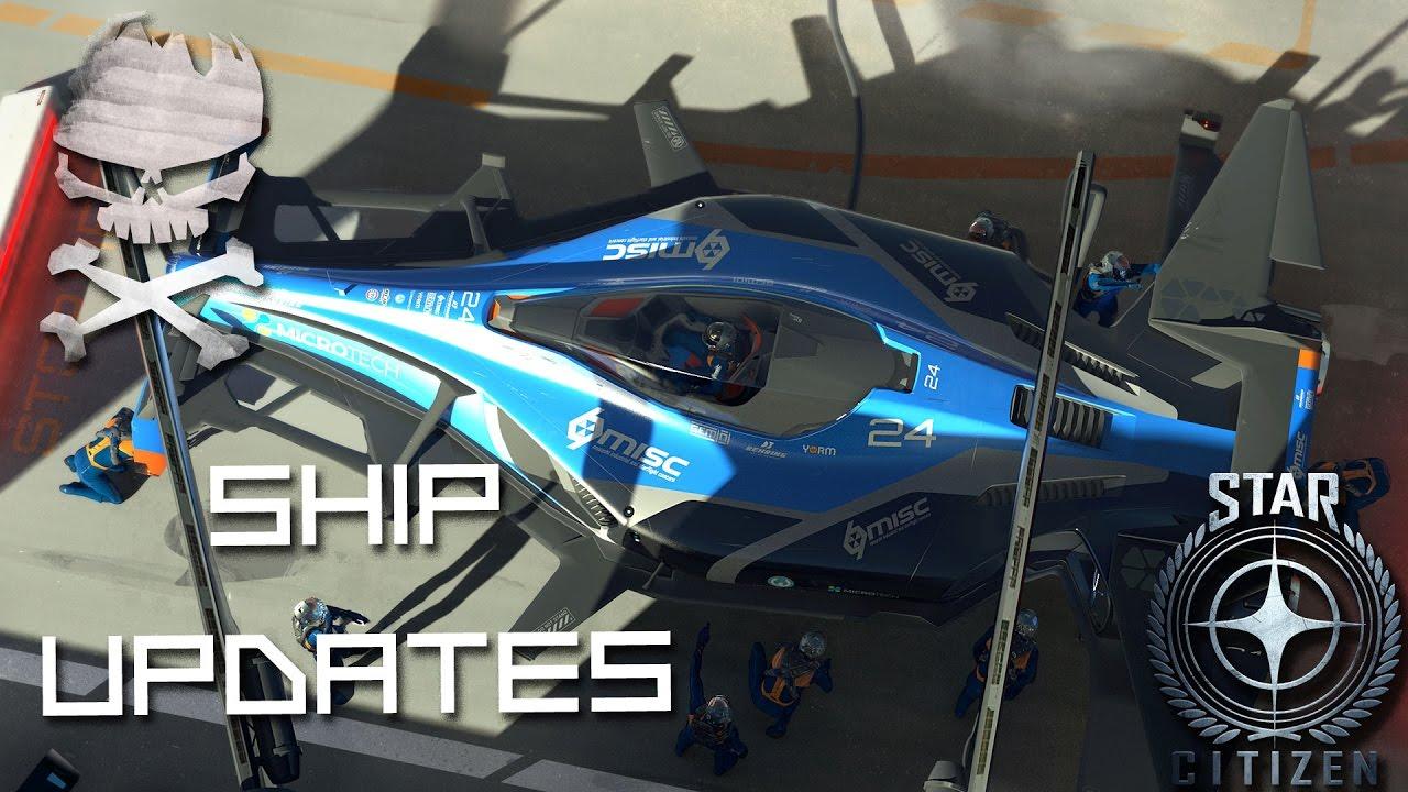 Download Star Citizen : Ship Updates Razor, Buccaneer in production and NPC crews 01-27-2017