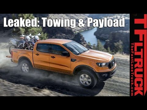 Breaking News:  Ford Ranger Payload & Towing Specs - Is It Class Leading?