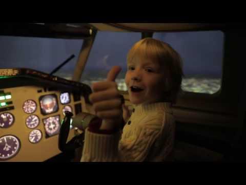 Симулятор самолета. Как Димыч летал на Ту-154Б-2