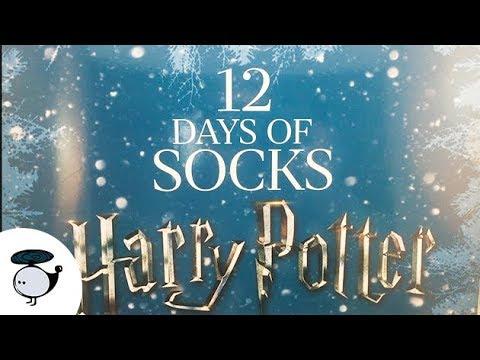 12 days of harry potter socks