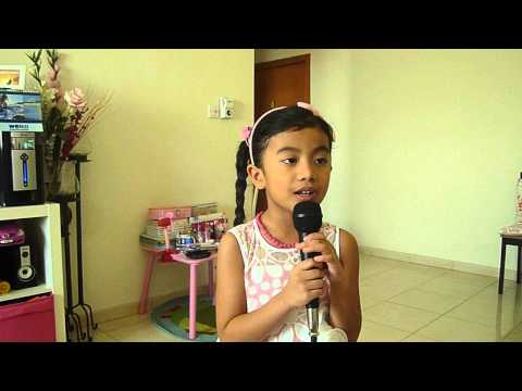 Paulean DG - 5yrs old (Kid's prayer - I Love You Jesus, I'll Grow Up Loving You)