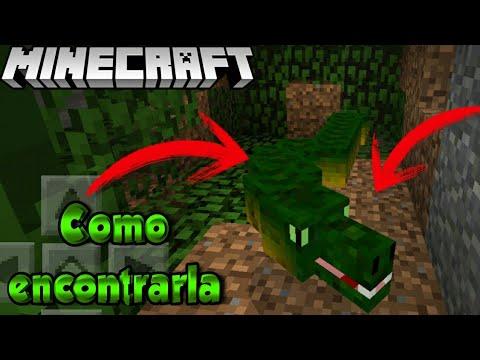 Salió Como encontrar Una Serpiente en Minecraft 1.2 sin Mods | Trucos y Addons para Minecraft 1.2