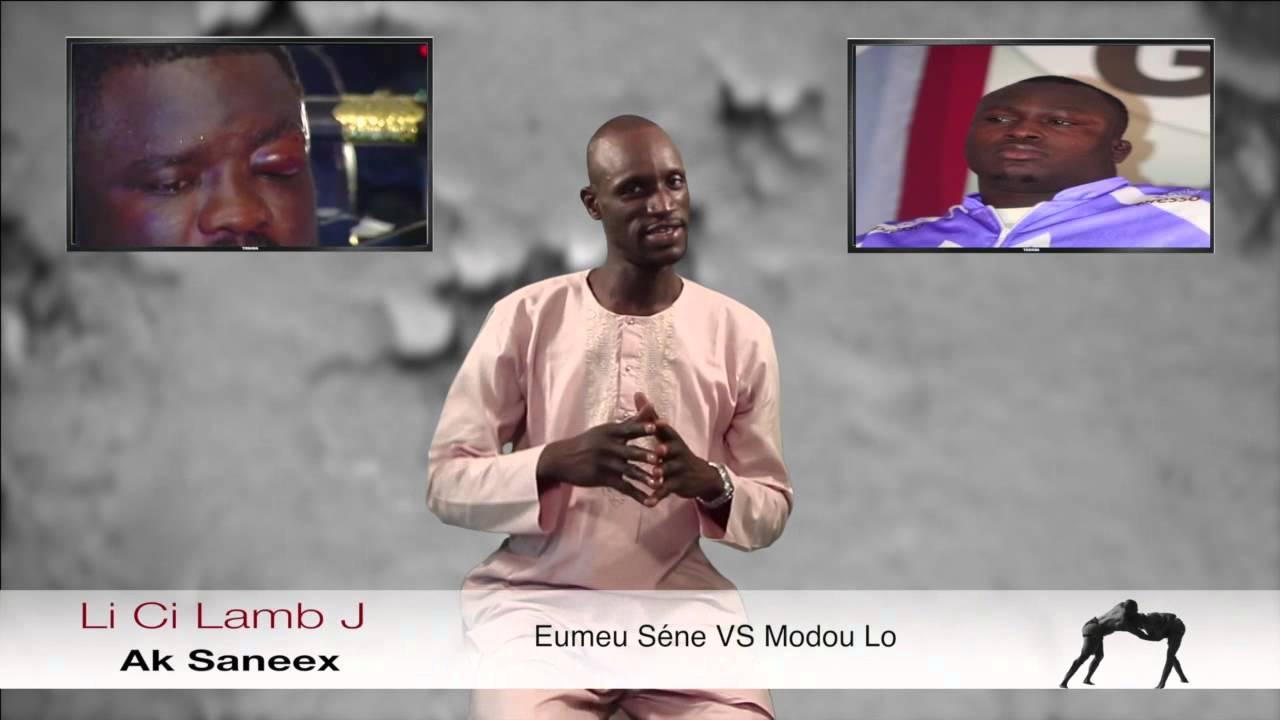Download Li Ci Lamb J Avec Saneex - Eumeu Sène VS Modou Lo