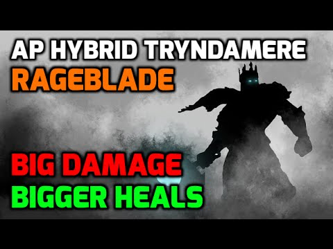 Season 6 Break the Meta!  AP Hybrid Rageblade Tryndamere MASSIVE HEALS!