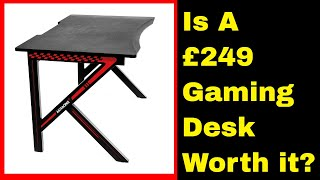 AKRacing Gaming Desk Summit Review, Is it worth £249?