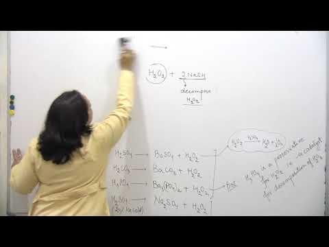 +1 Chemistry(Hydrogen Peroxide) Part-1