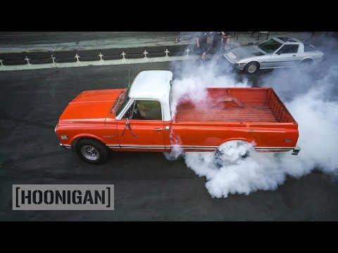 [HOONIGAN] DT 120: 500hp LS Turbo 1970 Custom Camper Pickup