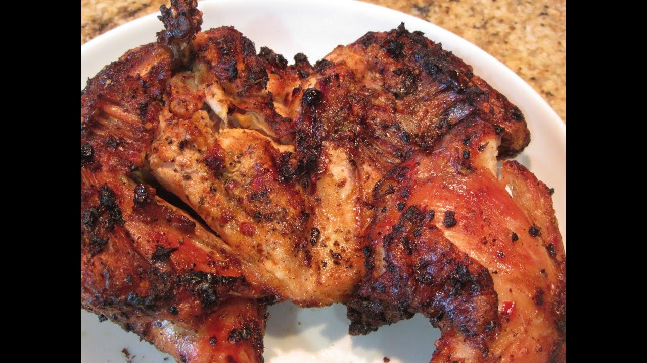 Grilled Cornish Game Hen Youtube