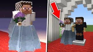 СЕКРЕТНЫЕ ПОСТРОЙКИ Minecraft КОТОРЫЕ ВЫ МОЖЕТЕ ПОСТРОИТЬ КАК СДЕЛАТЬ СВАДЕБНОЕ ПЛАТЬЕ ТУТОРИАЛ