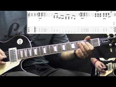 Ozzy Osbourne - Crazy Train (Intro) - Metal Guitar Lesson (w/Tabs)