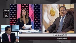 Pablo Sánchez le responde a Úrsula Letona y procurador Enco culpa al Congreso por fuga de Hinostroza
