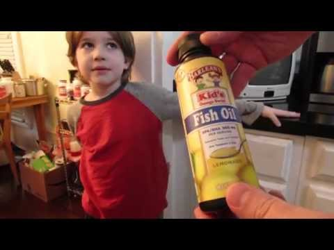 Barlean's Kid's Omega Swirl FISH OIL Lemonade REVIEW Video| TASTE TEST| Barleans| OskieWhiskie