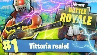 FORTNITE VITTORY RÉEL - NOUS SOMMES TAKE THE MANO