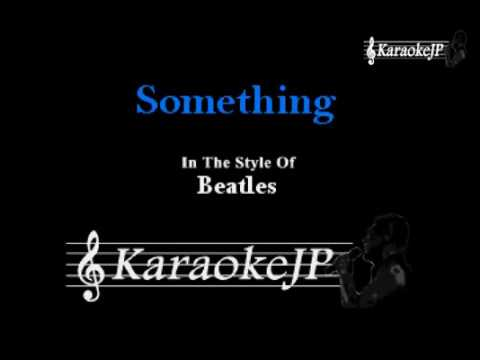 Something (Karaoke) - Beatles