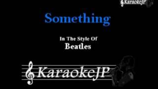 Something (Karaoke) - Beatles